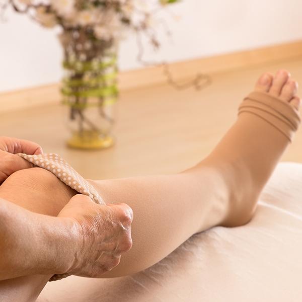 Soulager la sensation de jambes lourdes